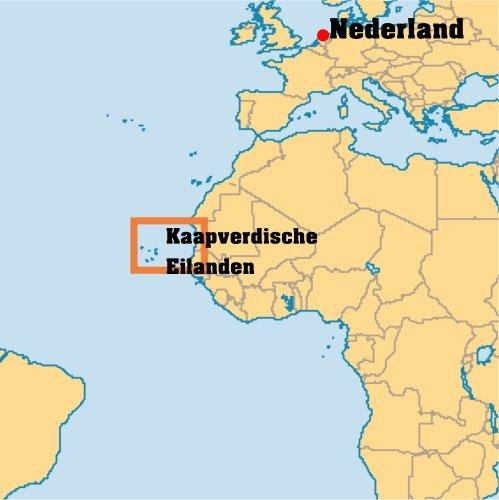 waar ligt Kaapverdie
